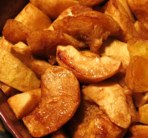 Roasted, Spiced Apples