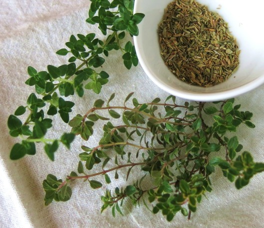 Regular and Lemon Thyme - Fresh & Dried