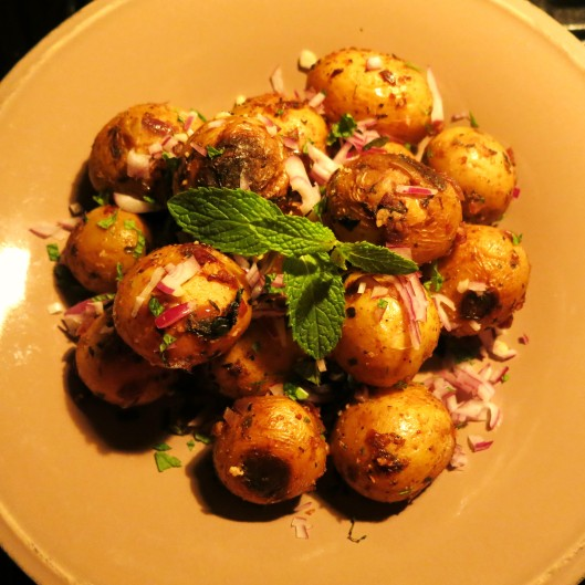 Stovetop Pan-Roasted Baby Potatoes