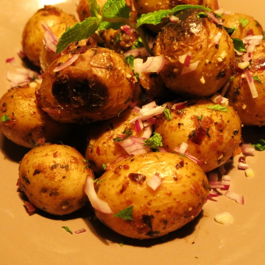 Stovetop Pan-Roasted Potatoes just waiting for your fork!