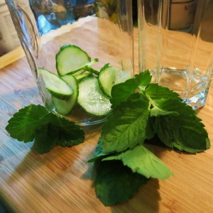 Cucumber-Mint Summer Cooler