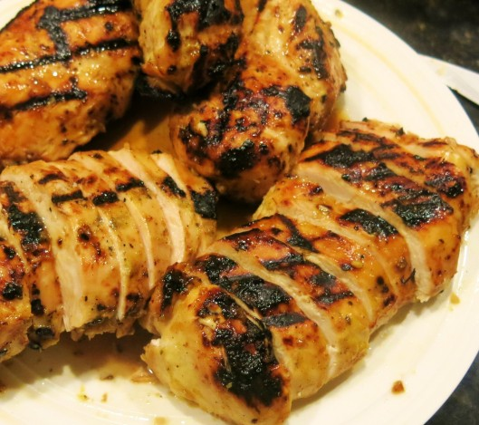 Citrus-Lime Marinated Grilled Chicken Breasts