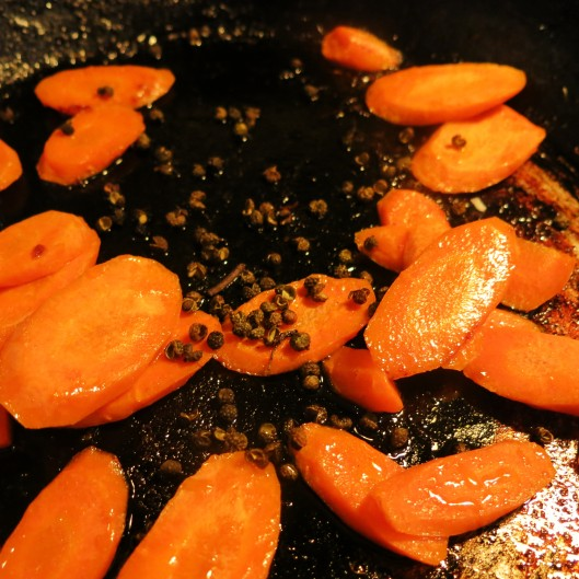 Carrots and Szechuan Peppercorns