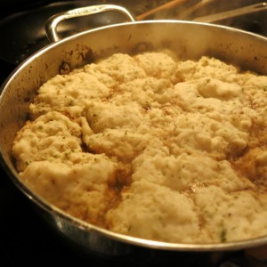 Fluffy Dumplings - Ready to Enjoy!