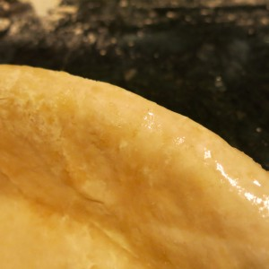 Moistened Pie Pastry Ready for the Filling and Top Crust