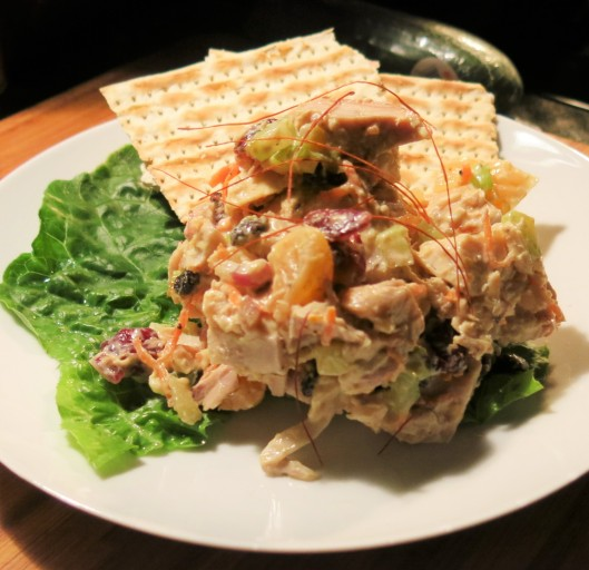 Winter Wonderland Chicken Salad
