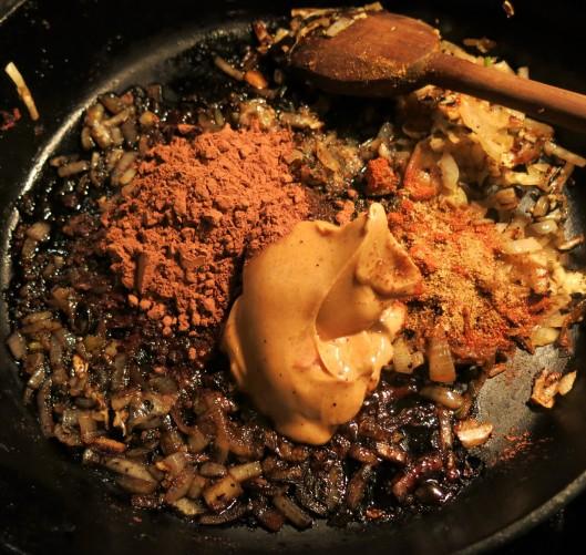 Chicken Mole Skillet Dinner