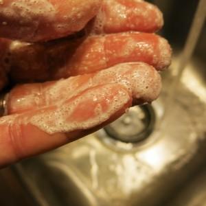 Gardener's Sugar Hand Scrub
