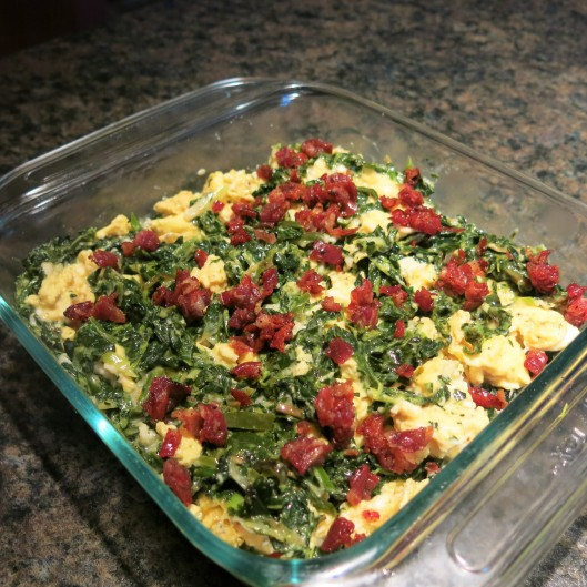 """Green-with-Envy Eggs and """"Ham"""""""