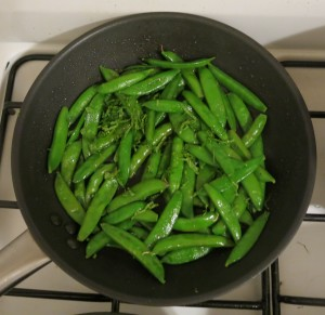 Sugar Snap Peas with Mint