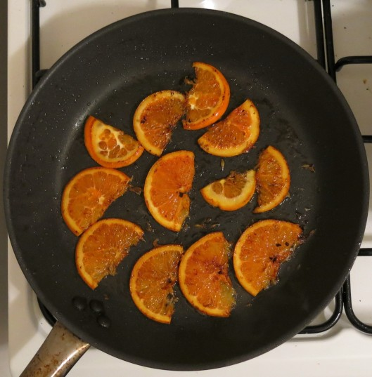 Stove-Top Caramelized Orange Slices