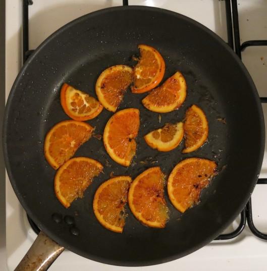 Stove-Top Caramelized Orange Slices