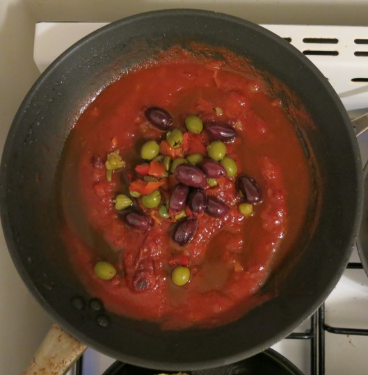 Tomato, Capers, and Olives Sauce