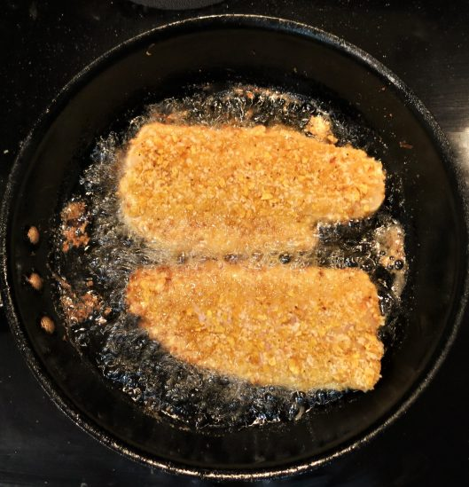 Plantain Chip-Crusted Fish Fillets