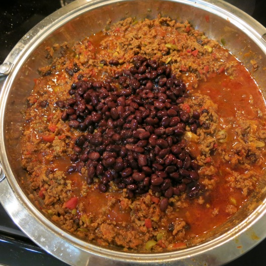 Picadillo with Black Beans