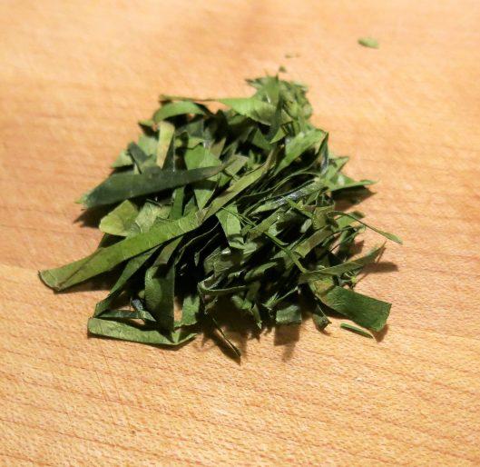 Frozen Kaffir Lime Leaves, Julienned