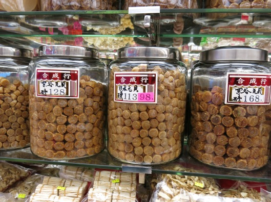 Dried Scallops - Chinatown Market in Vancouver, BC, Canada