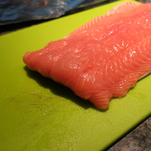 Salmon Filet - Equally thick on both ends!