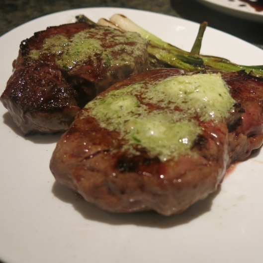 Pan-Fried Filet Mignons with It's-All-About-Garlic Butter