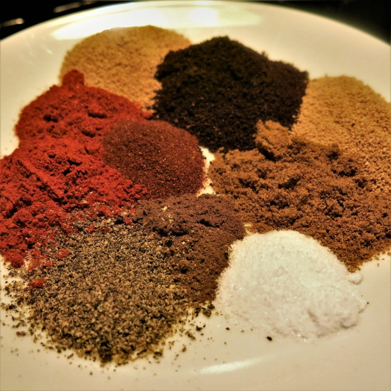 Coffee-Brown Sugar Dry Rub