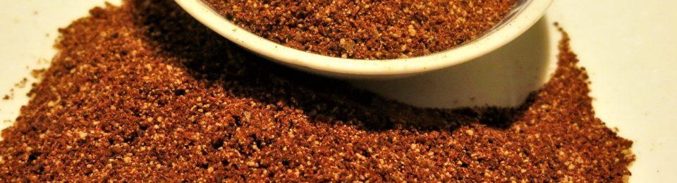Coffee-Brown Sugar Dry Rub