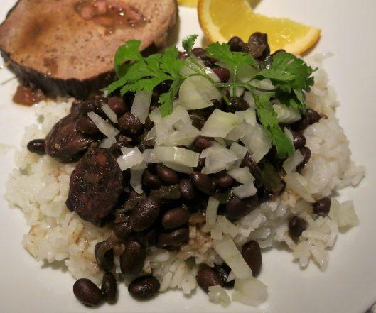 Cuban-Style Black Beans à la Pressure Cooker