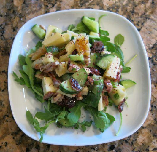 Cucumber-Apple Summer Salad