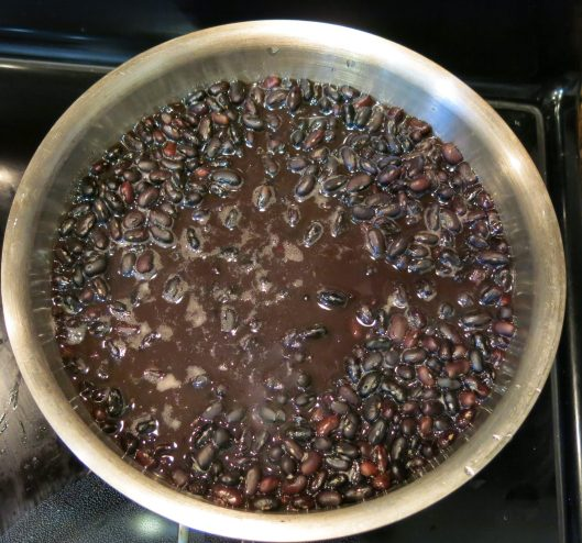 Quick Soaked Black Beans for Cuban-Style Black Beans à la Pressure Cooker