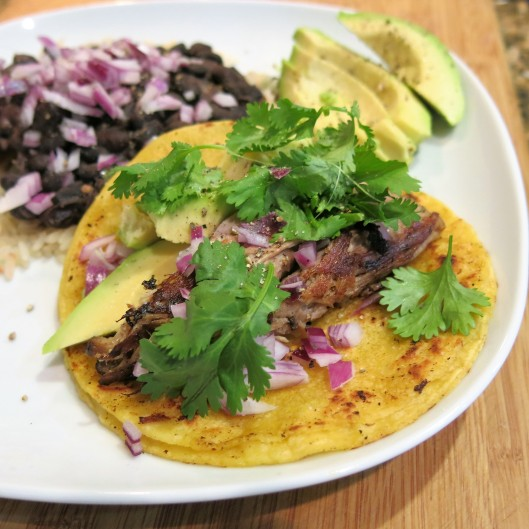 Tacos with Leftover Island Pork Roast