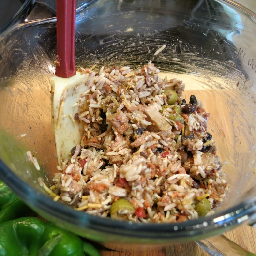 Filling for Cuban-Style Stuffed Peppers
