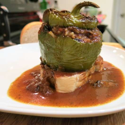 Cuban-Style Stuffed Peppers