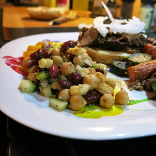 Three-Bean Salad with Edamame and Hearts of Palm