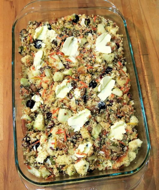 Apple-Cranberry Cornbread Dressing