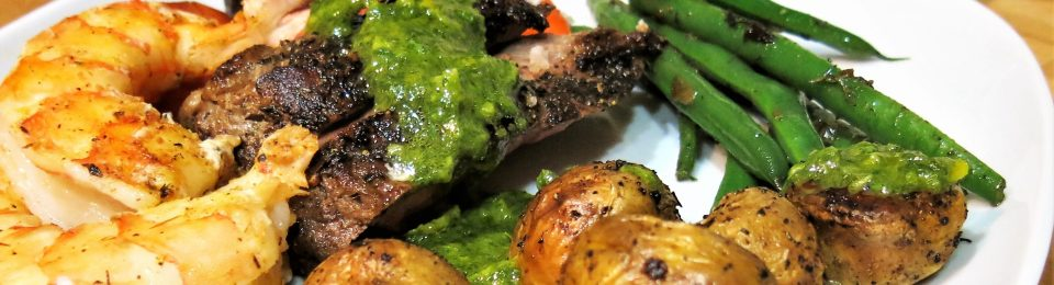 Parsley-Cilantro-Orange Chimichurri