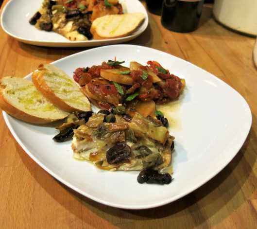 Slow-Roasted Tilapia with Leeks and Capers