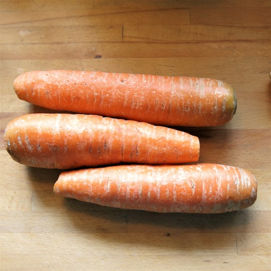 Enormous Carrots for Hasselback Carrots with a Seasoned Crumb Stuffing