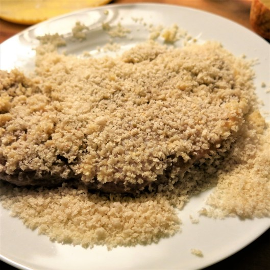 Panko Crumbs for the Breaded Pork Cutlet with Lemongrass-Garlic and Soy Marinade