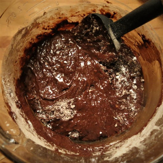 Batter for Bumpy Road Brownies