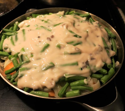 Beef, Potato and Green Bean Skillet Dinner
