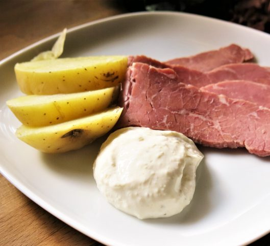 Creamy Horseradish-Mustard Sauce