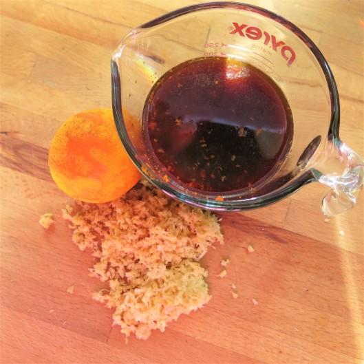 General Tso's-Orange Sauce