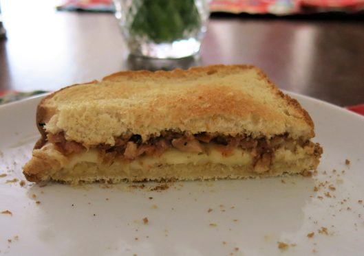 Grilled Cheese with Roasted Pineapple for Roasted Citrus Tapenade