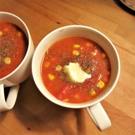 Tomato-Corn Chowder