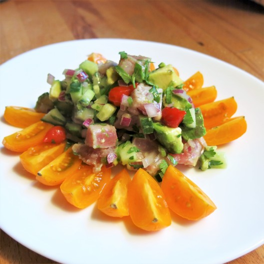 Tuna-Avocado Ceviche