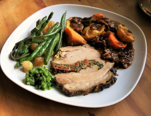 Florentine Pork Roast with Garlic and Rosemary