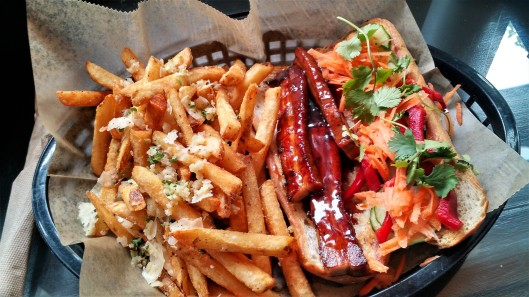 Bahn Mi with Garlic-Parmesan Fries from For Love and Food Café