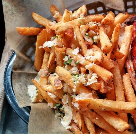Garlic-Parmesan Fries from For Love and Food Café