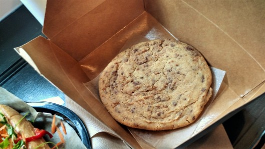 Giant Heath Bar Cookies from For Love and Food Café
