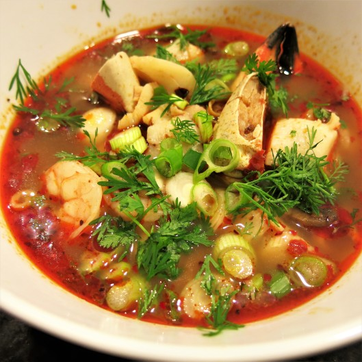 Seafood Hot Pot Revisited