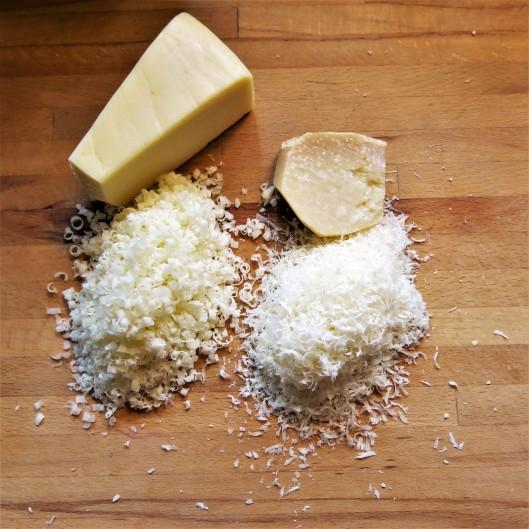 Fontina & Parmesan Cheeses